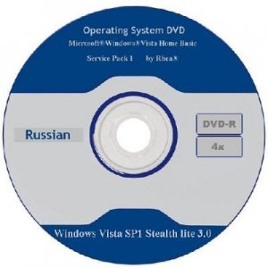 Windows Vista SP1 x86 Stealth lite 3.0 (2011) Русский