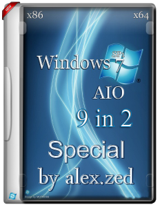 Windows 7 SP1 Special / 9in2 / by alex.zed / ~rus~