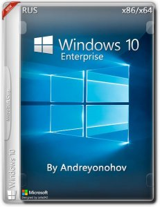 Windows 10 Enterprise 2016 LTSB 14393 Version 1607 / by Andreyonohov / 2in1DVD / ~rus~