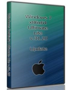 Windows 7x86x64 Ultimate Легкая версия от Uralsoft