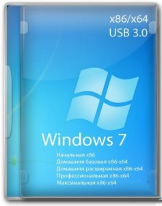 Сборка Windows 7 SP1 N 10 in 1 KottoSOFT (En\Ru) (x86\x64) v.7 Поддержка UEFI x64
