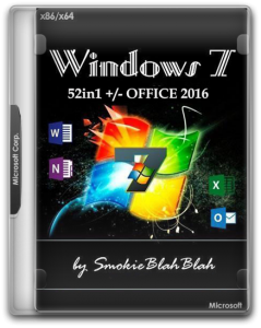 Windows 7 SP1 (x86/x64) 52in1 +/- Office 2016 18.04.20 [2020, Rus/Eng] от SmokieBlahBlah