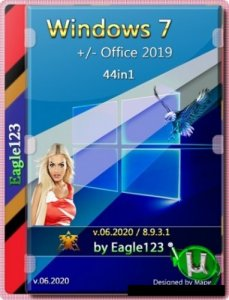 Windows 7 SP1 44in1 (x86/x64) +/- Office 2019 by Eagle123 (06.2020)