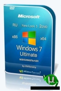 Windows 7 Ultimate Русская 32-х и 64-х битные x86-x64 SP1 NL3 by OVGorskiy® 06.2020 2DVD
