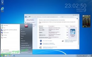 мини сборка Windows 7 Ultimate SP1 7601.24556 RU-RU GAM (x86-x64)