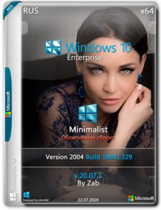 Windows 10 Enterprise x64 Minimalist v.20.07.1 by Zab