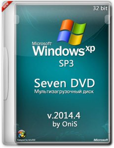 Windows XP SP3 Seven DVD 2020.6 by OniS